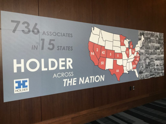 Holder Construction Associate Retreats in Dallas