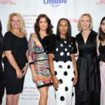 Lisa Ling, Gwynne Shotwell, Bellamy Young, Kerry Washington, Marne Levine, and Rowan Blanchard at the Women Making History Awards  (Photo by John Sciulli/Getty Images)